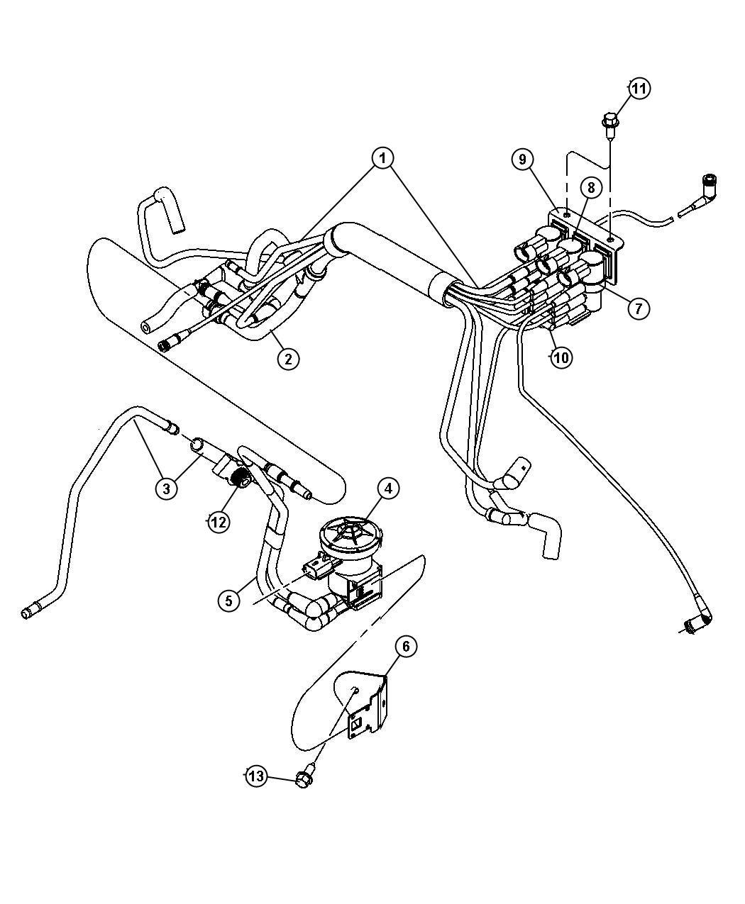 Chrysler Pt Cruiser Solenoid Waste Gate Turbo