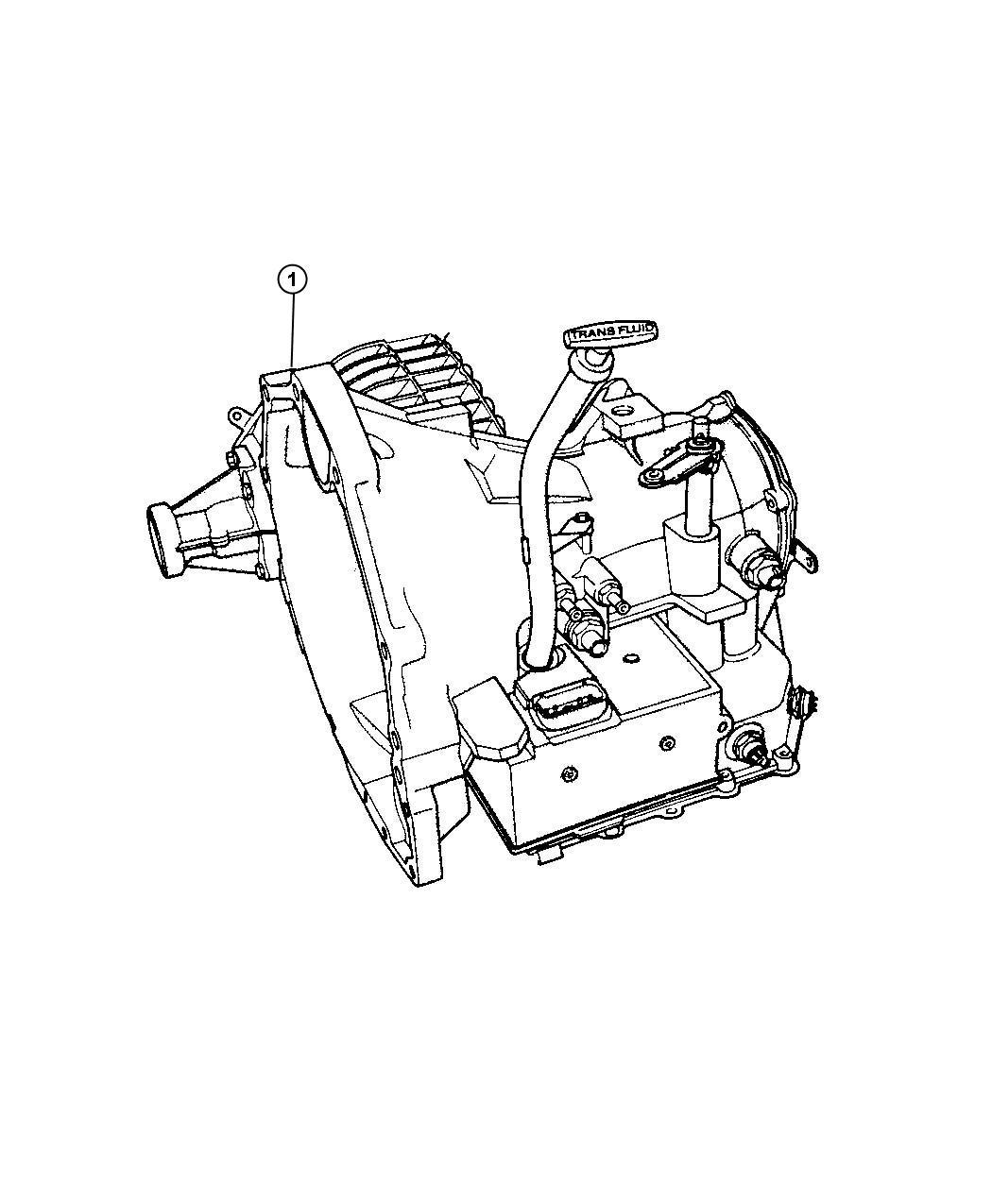 Chrysler Pt Cruiser 41te Tran With Torque Converter