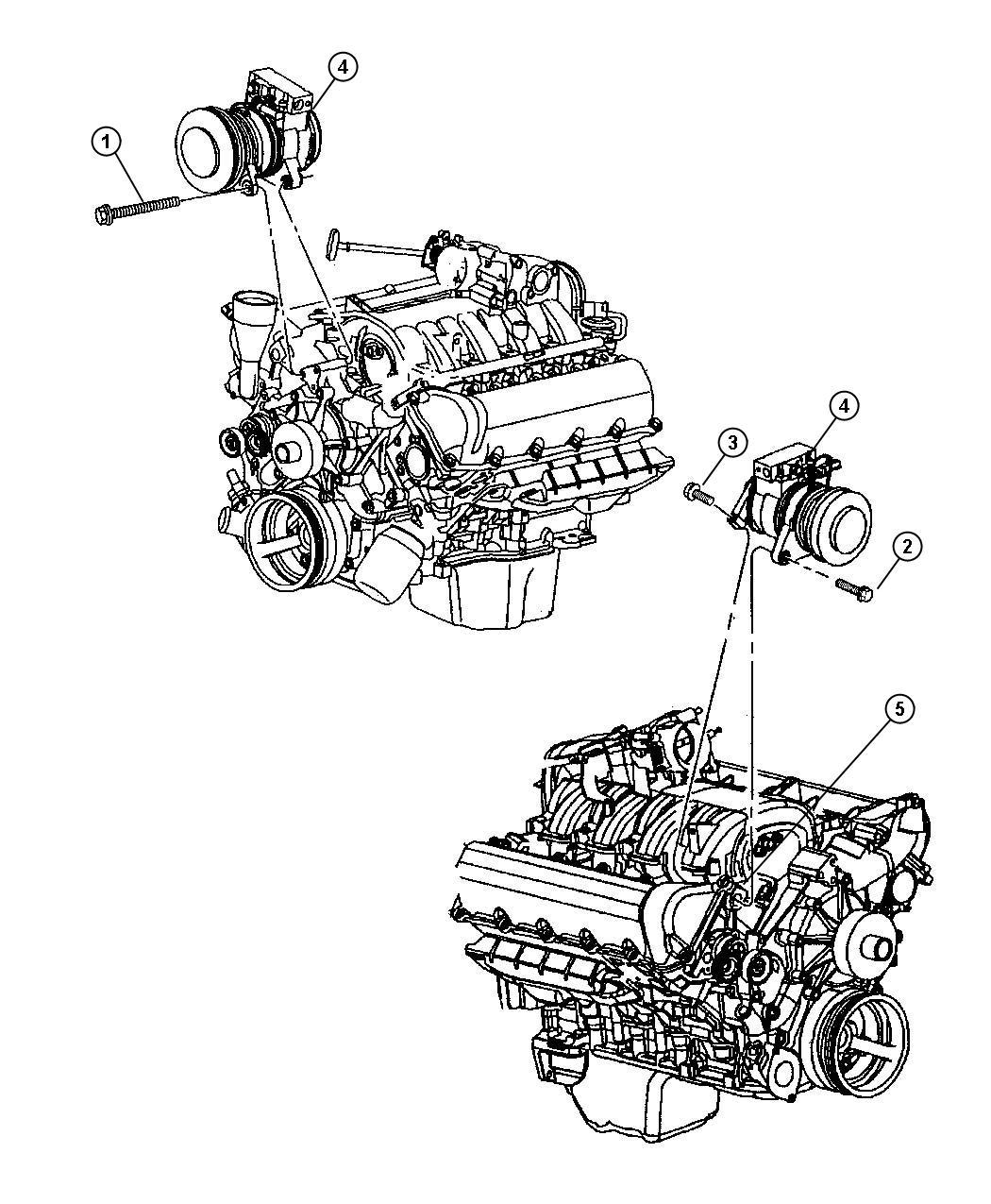 Dodge Dakota Used For Screw And Washer M24x2 00x40