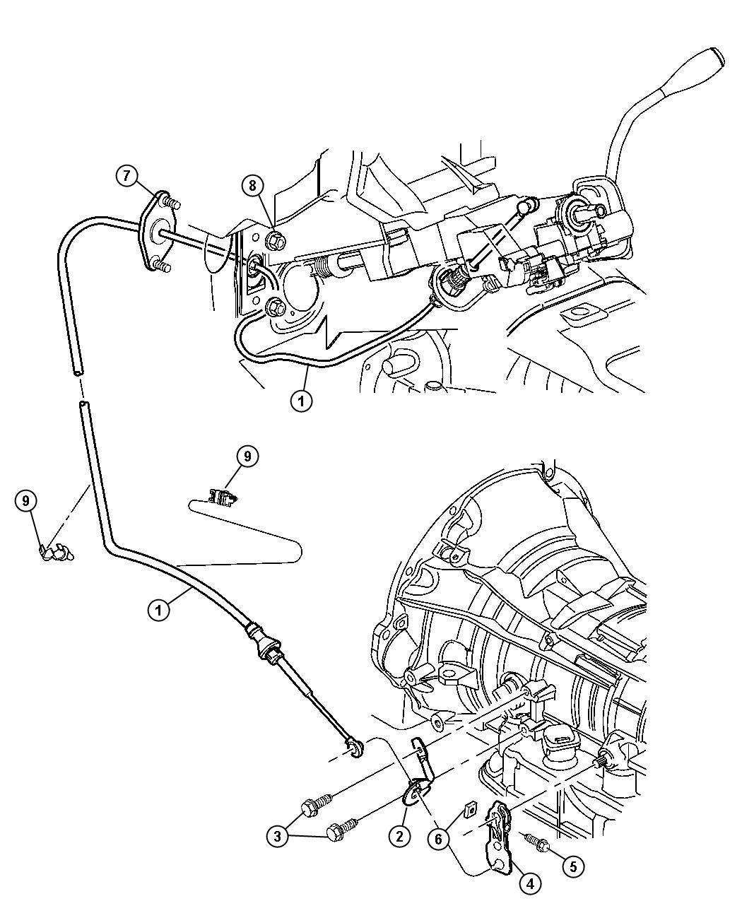 Dodge Ram Clip Liquid Line Attaching With Air