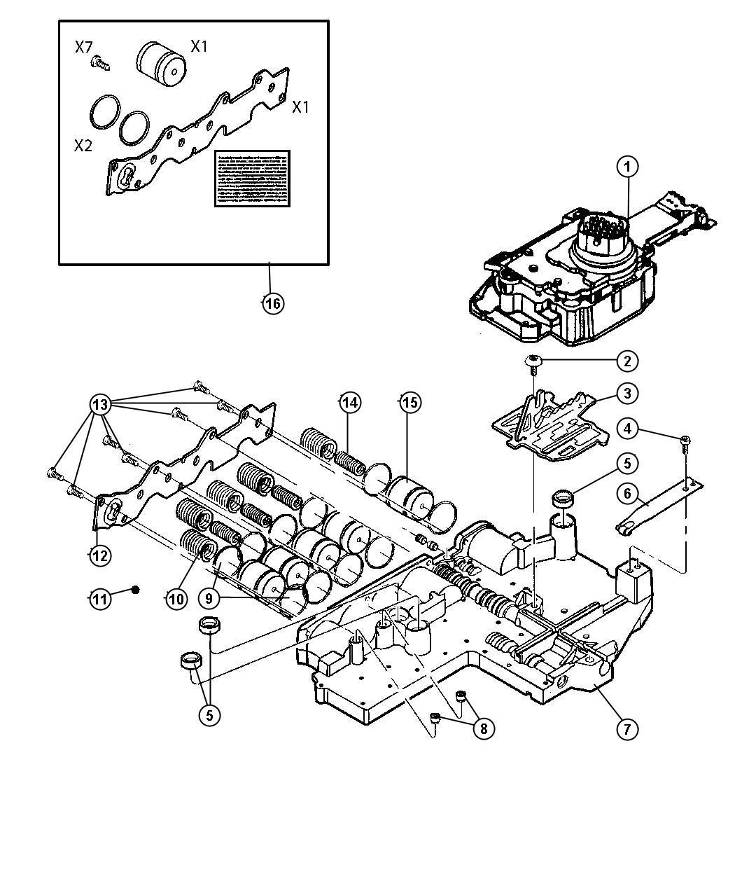 Dodge Dakota Valve Body Assembly Remanufactured Axle
