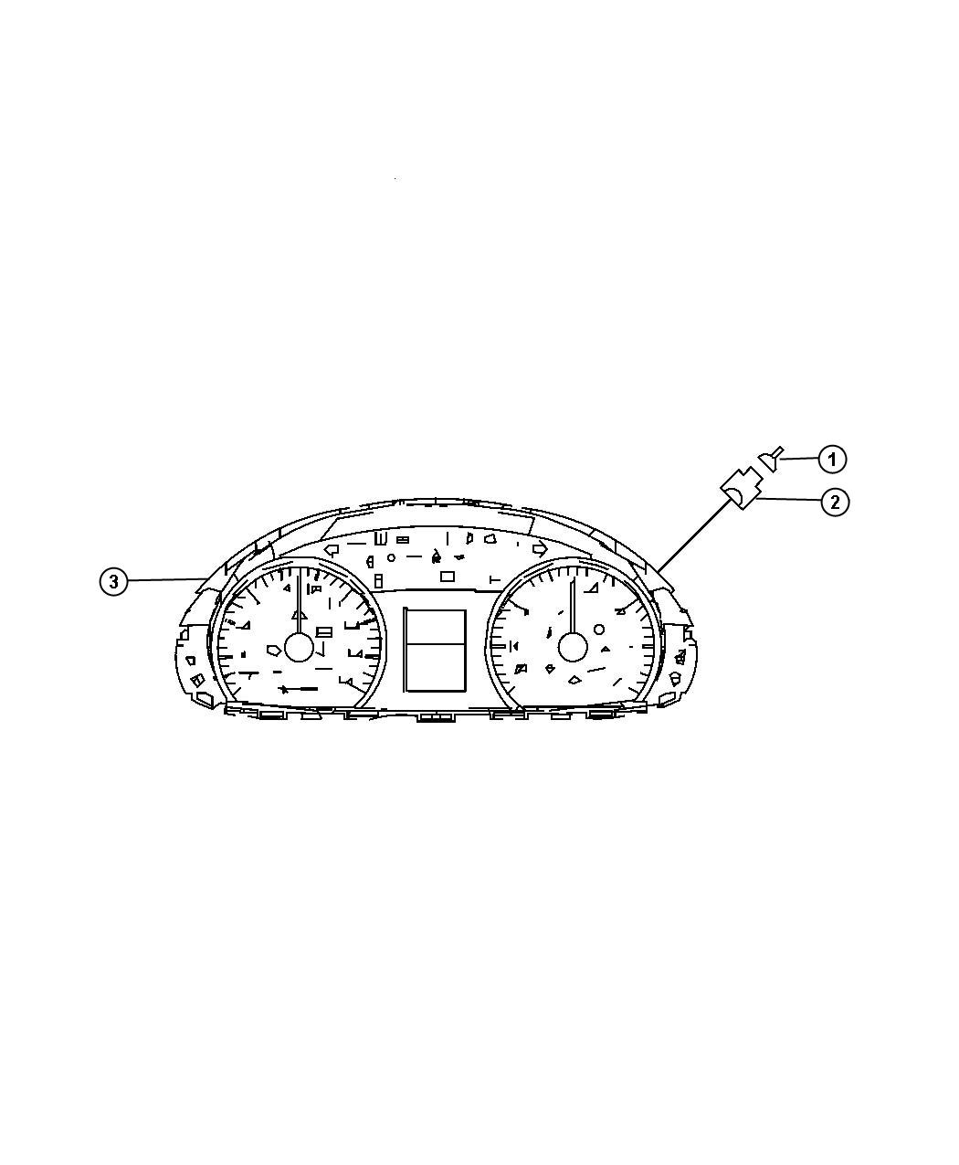 Dodge Sprinter Cluster Instrument Panel With