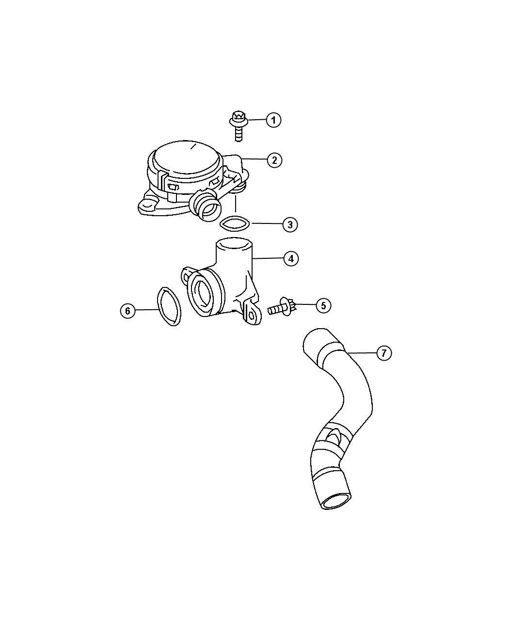 Dodge Sprinter Valve Pcv Pressure Control Valve Zj9 Engine Crankcase Ventilation