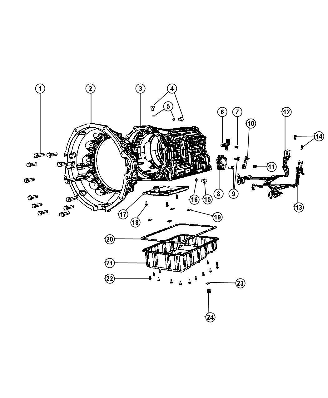 Dodge Ram Gasket Transmission Case Related