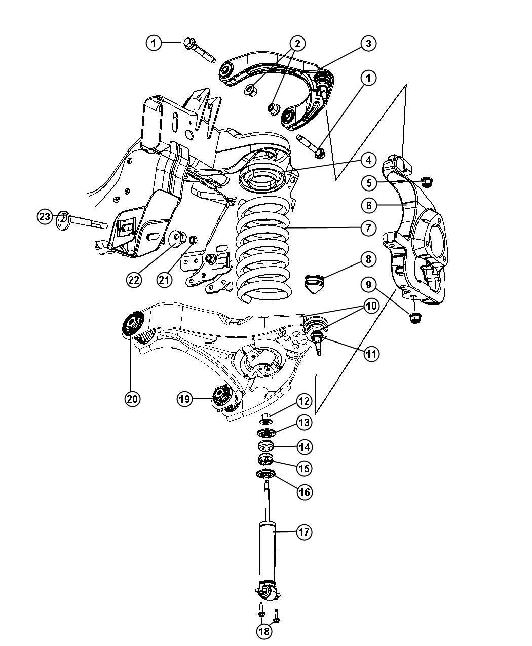 Dodge Ram Spring Front Coil Spring