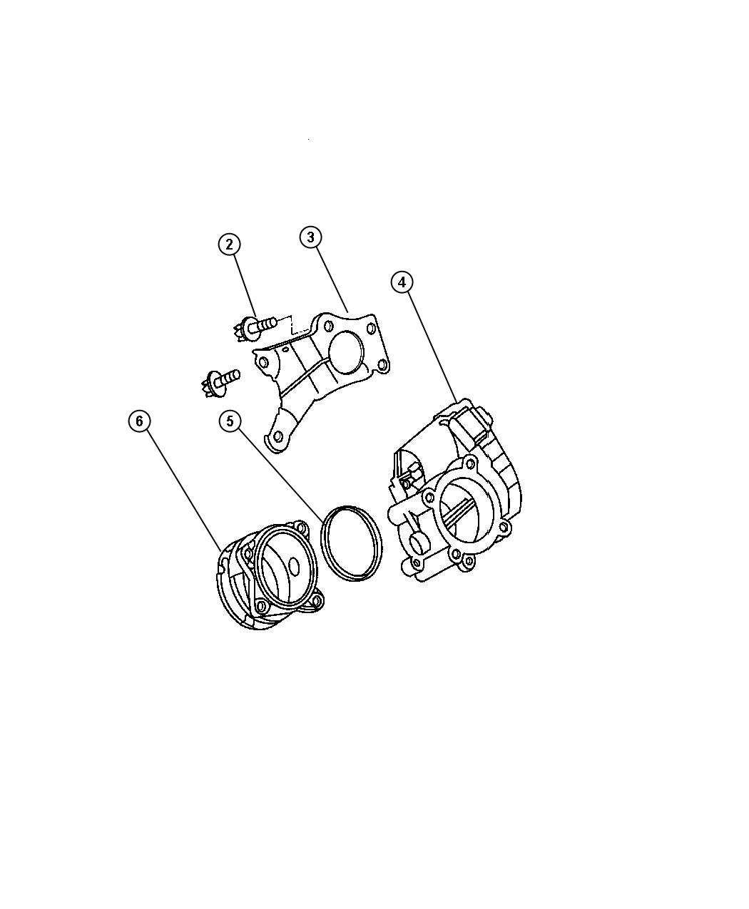 Jeep Grand Cherokee Throttle Body Service Manual
