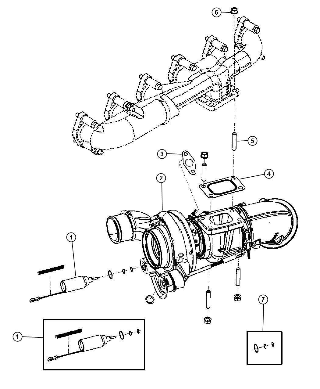 Jeep Compass Pipe Exhaust Emissions Turbocharger