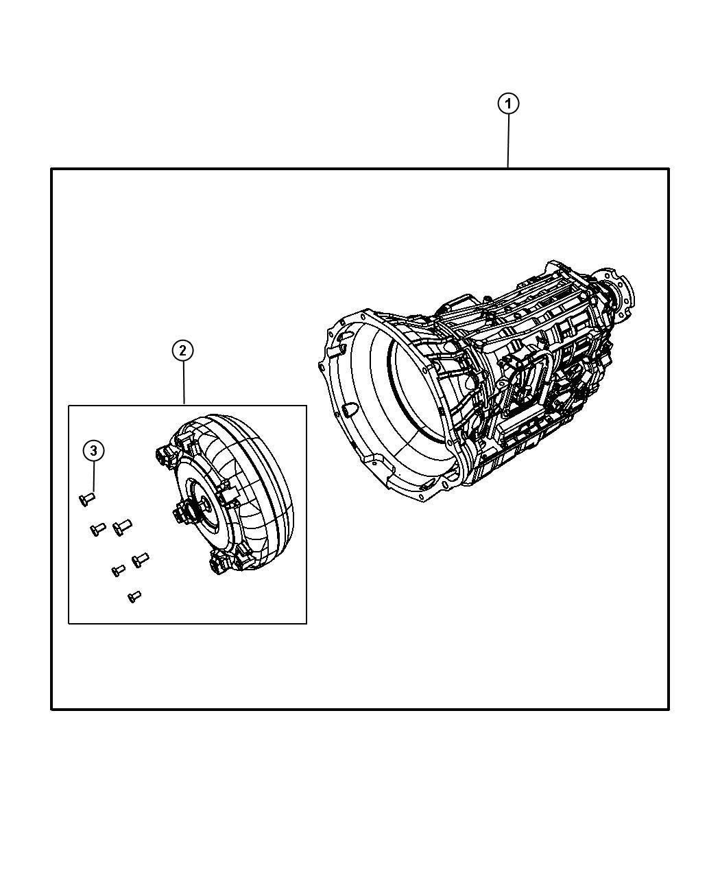 Dodge Ram Overhaul Kit Transmission