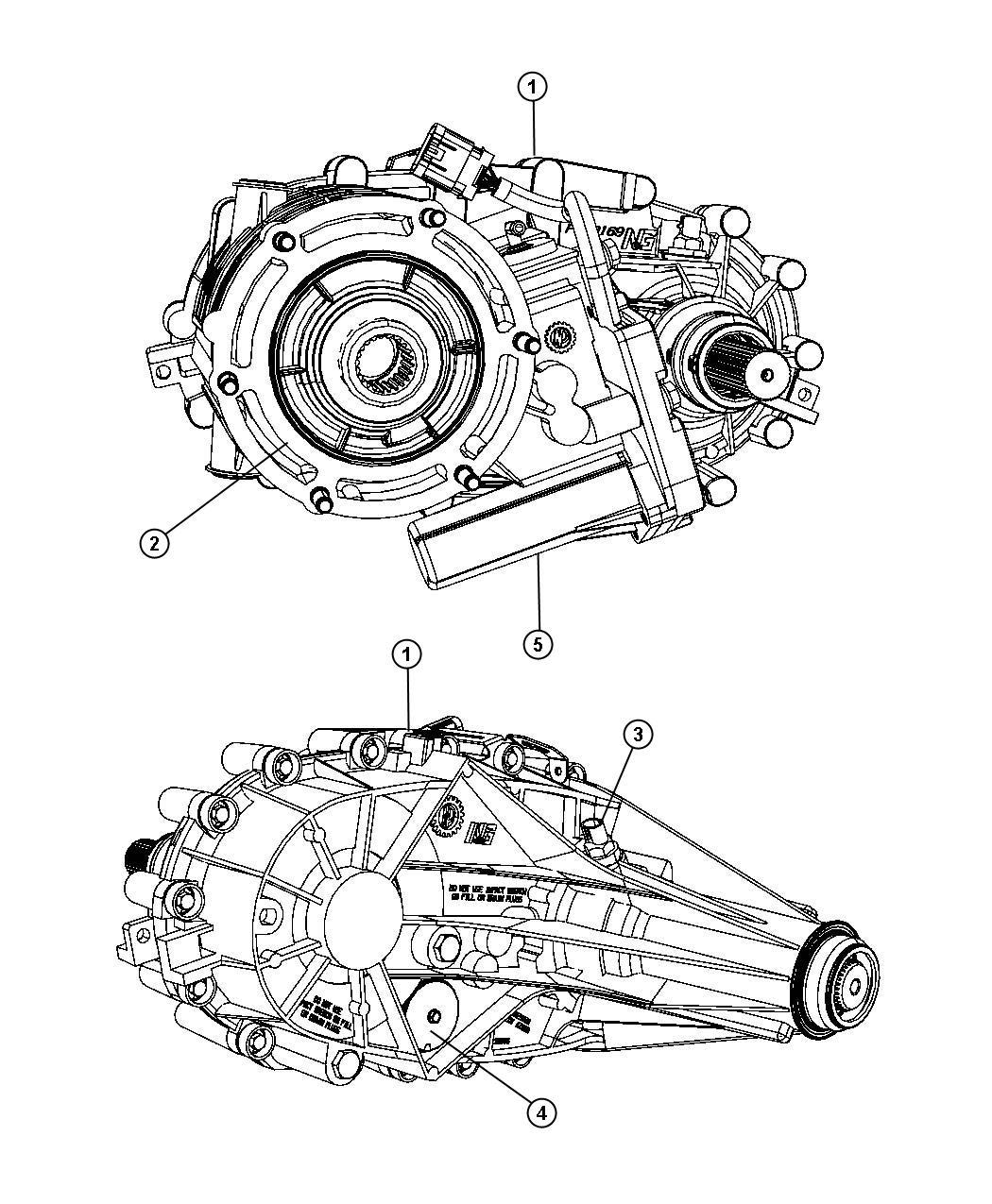 Dodge Ram Transfer Case Remanufactured Shift Demand Assembly
