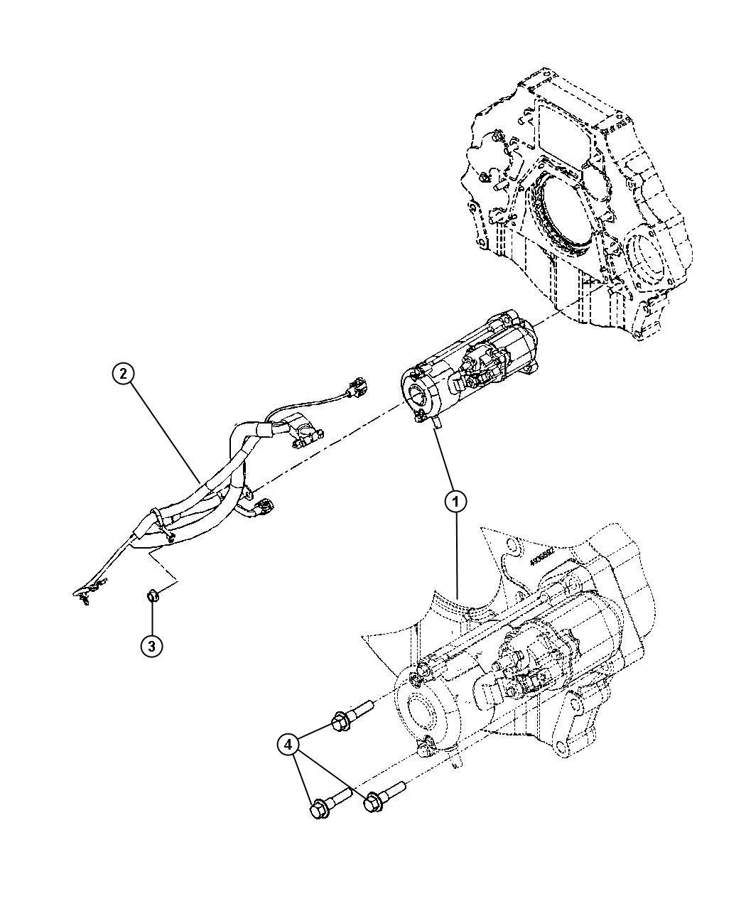 Dodge Ram Wiring Battery Positive Left Emissions