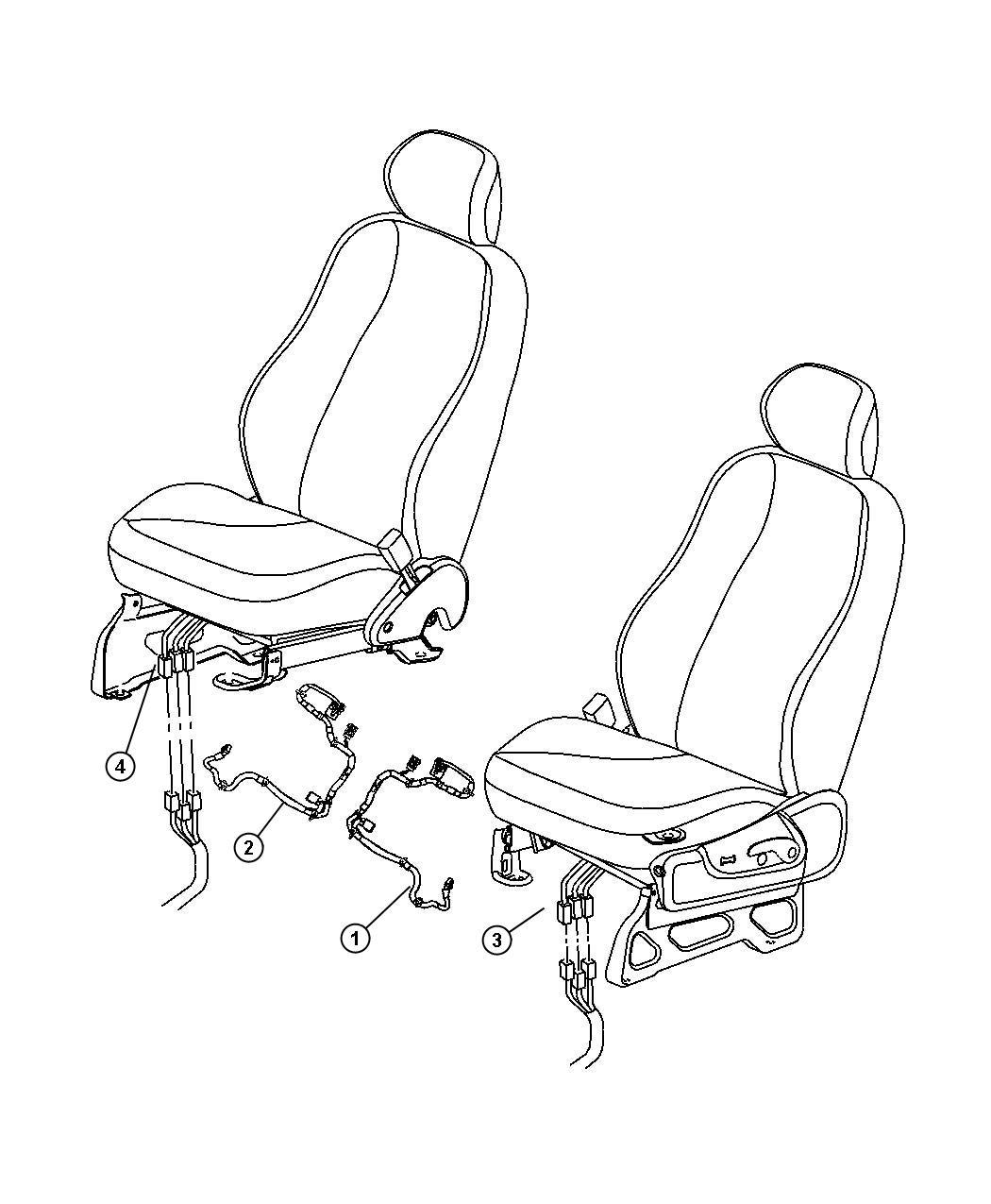 Dodge Nitro Wiring Seat Tag Aa Tagged