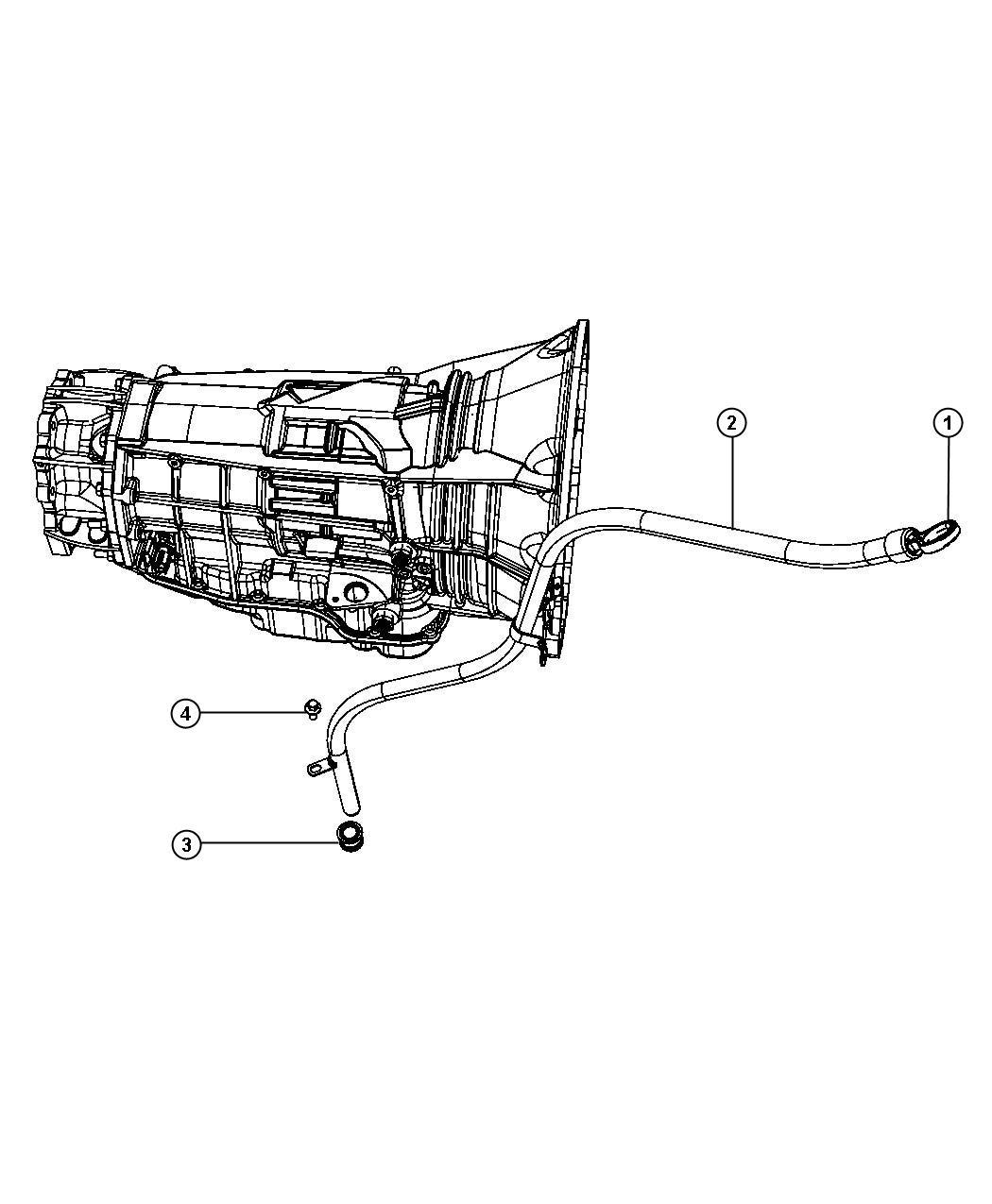 Jeep Grand Cherokee Indicator Transmission Fluid Level