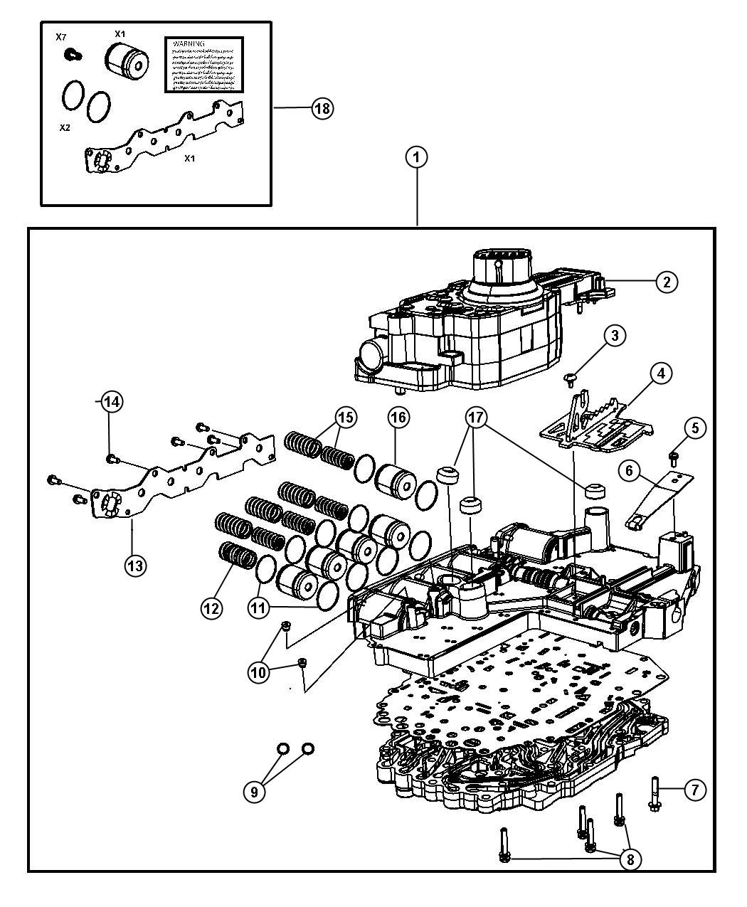 Jeep Grand Cherokee Solenoid Solenoid Package