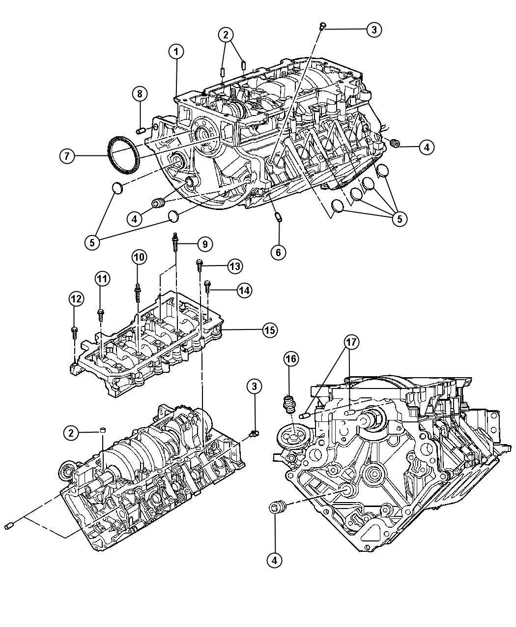 Engine Block Cores