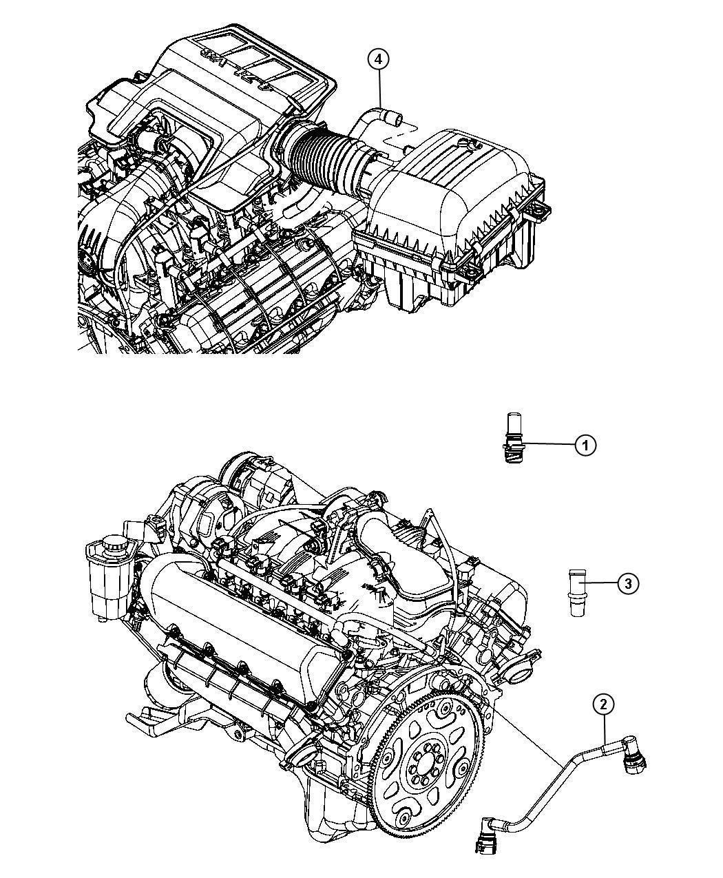 Dodge Durango Valve Pcv Crew Cab Eve Engine System