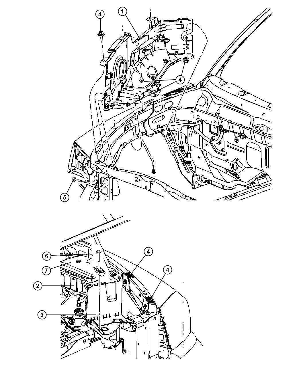 Dodge Dakota Screw Hex Head M8x1 25x25 Hydroform