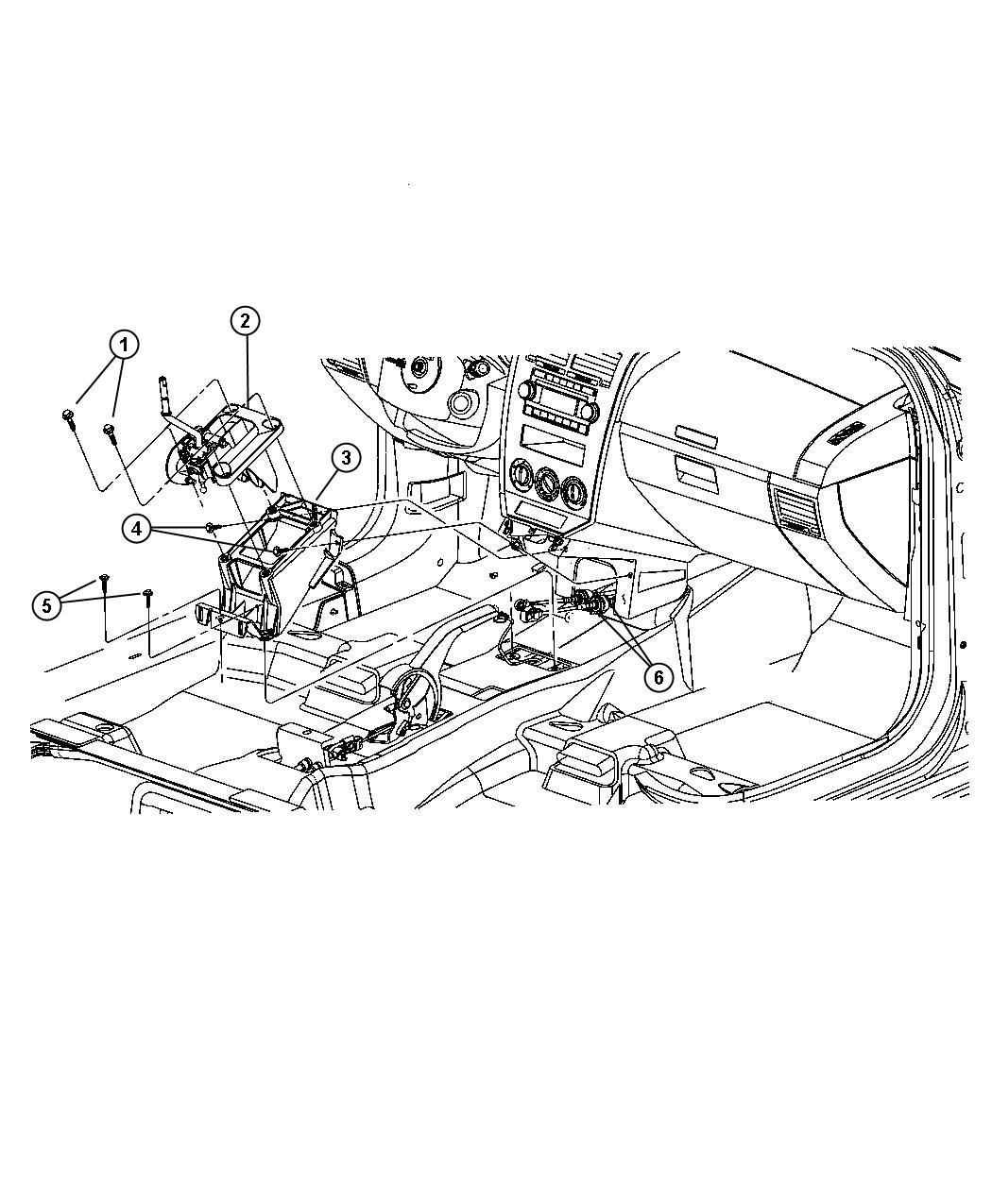Jeep Patriot Shifter Transmission