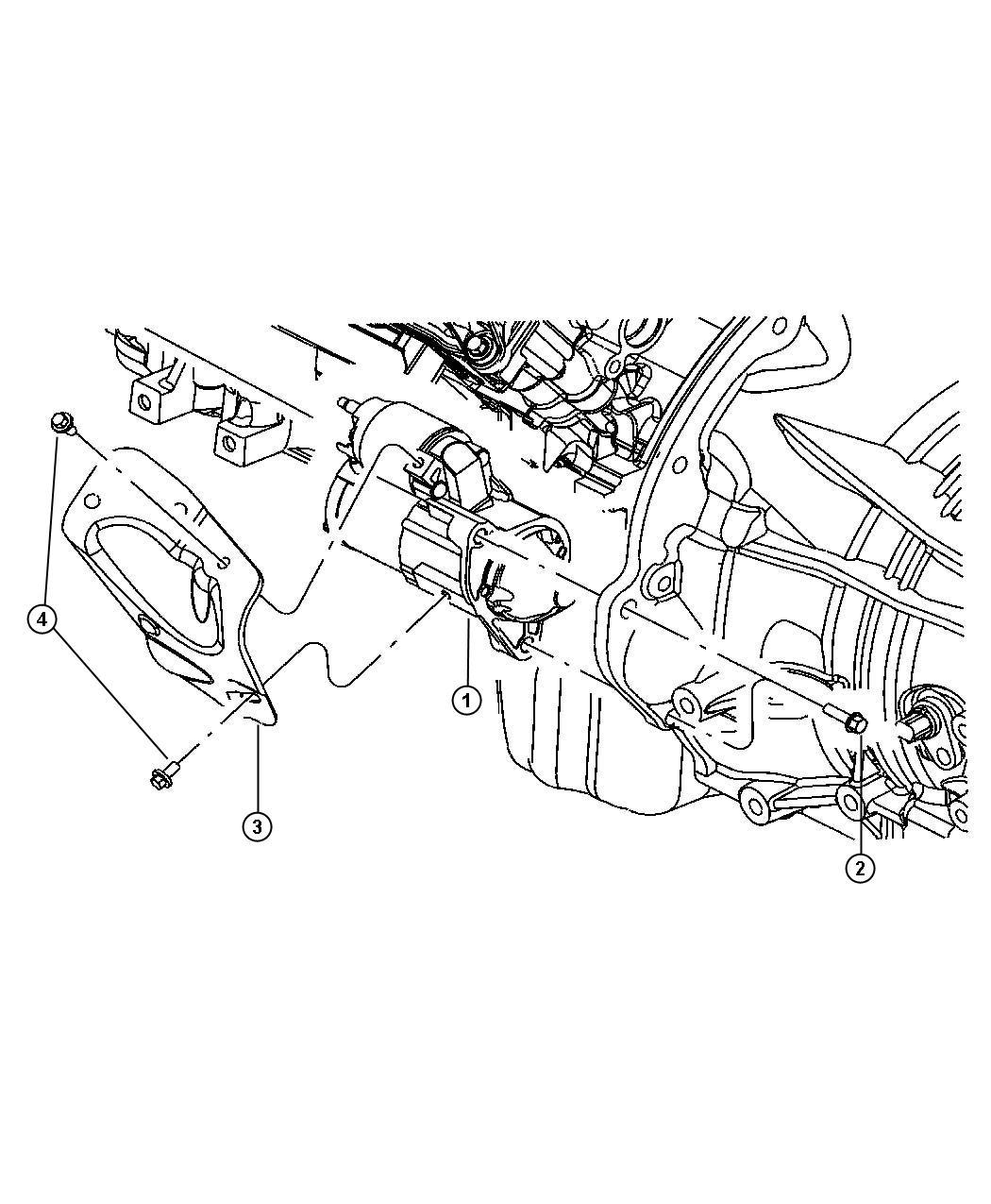Jeep Commander Starter Engine Remanufactured