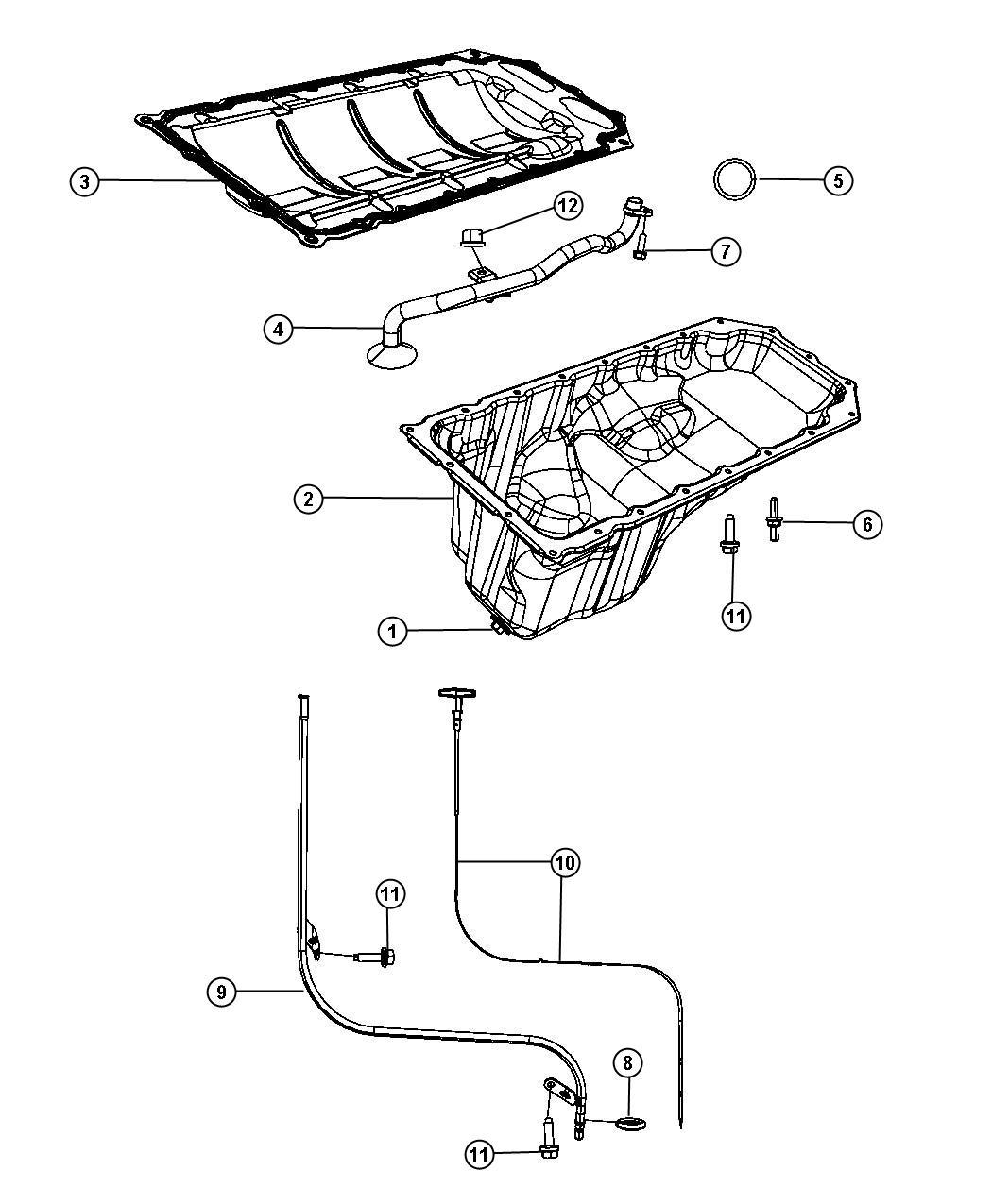 Jeep Commander Tube Engine Oil Indicator Ezb Oiling
