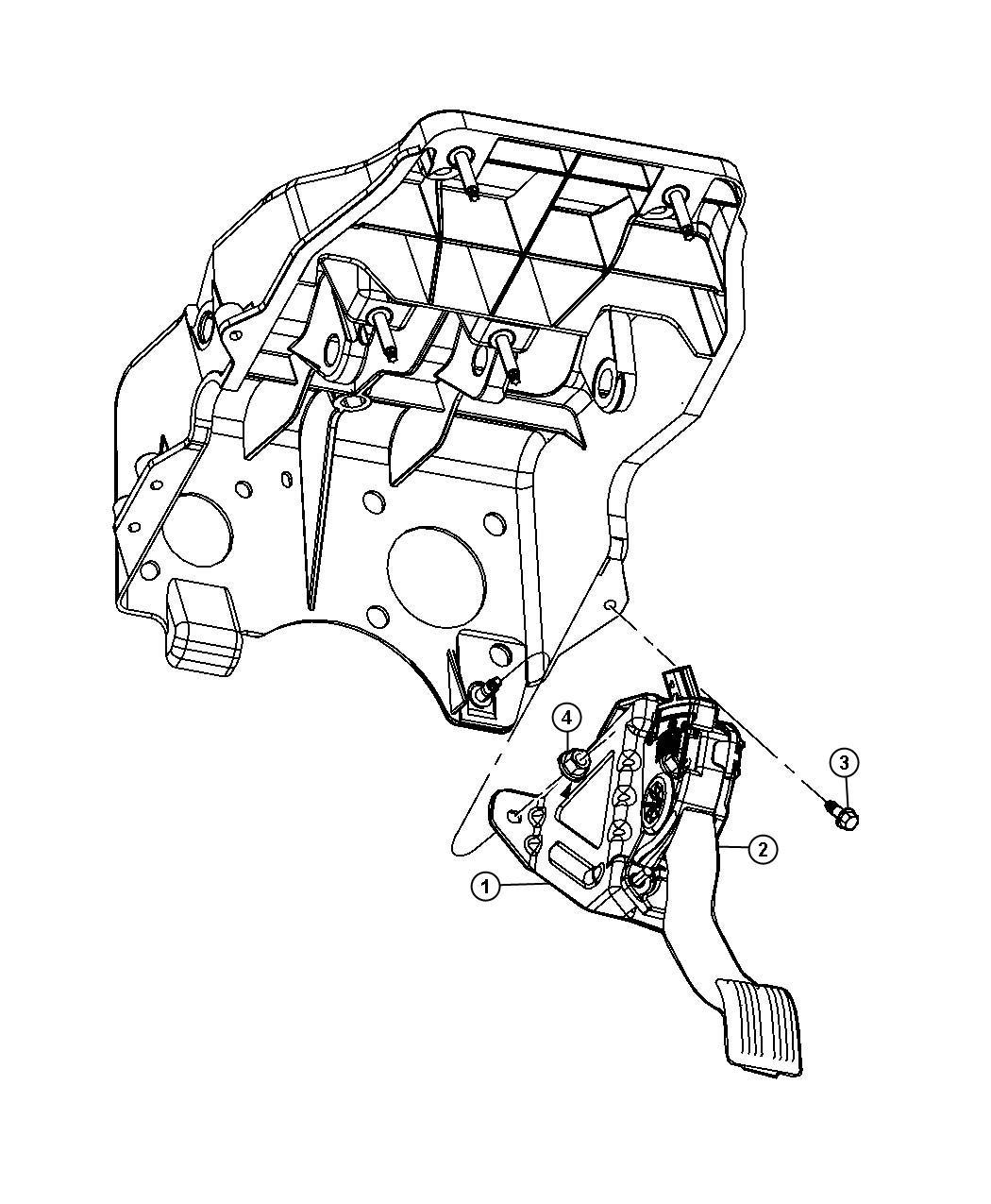 Dodge Ram Pedal Accelerator Apps Sensor Service