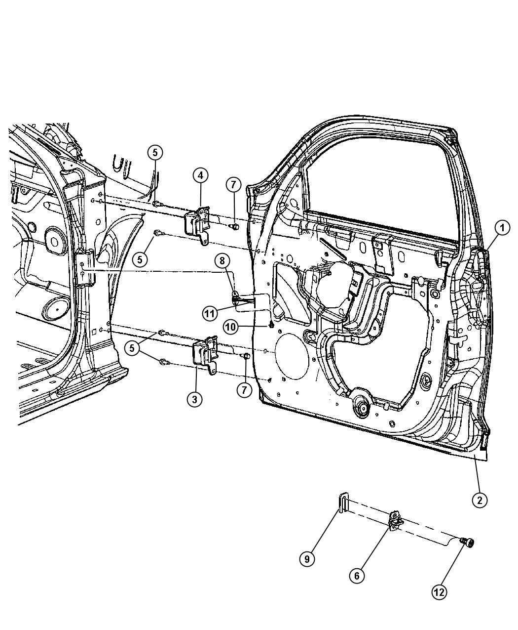 Chrysler Pt Cruiser Check Front Door