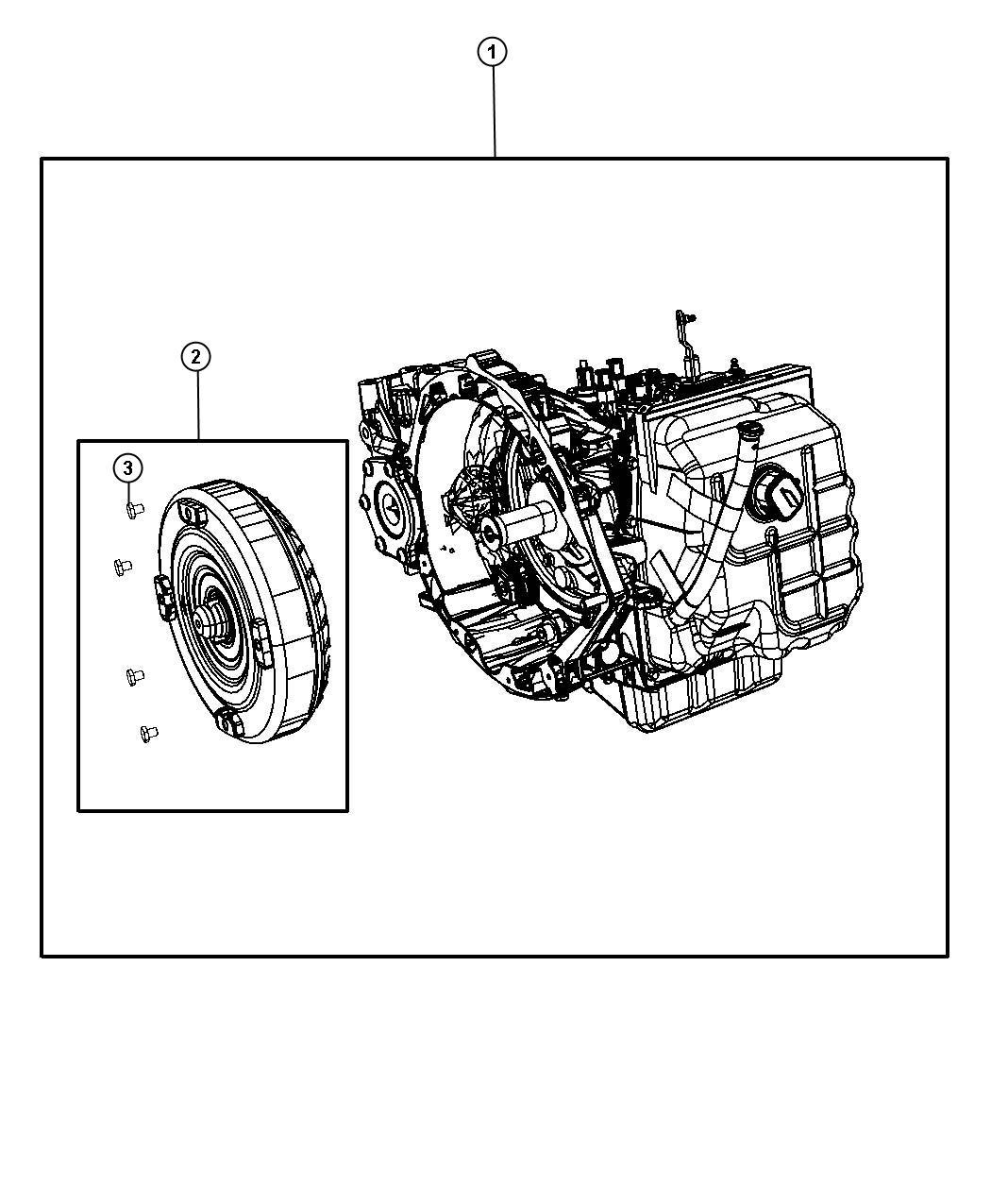 Dodge Avenger Transmission Kit With Torque Converter