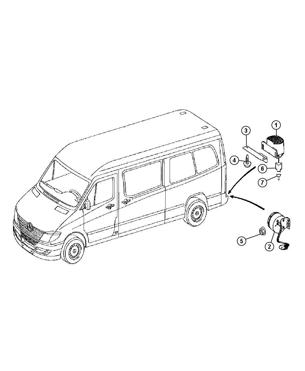 Dodge Sprinter Connector Wiring Repair