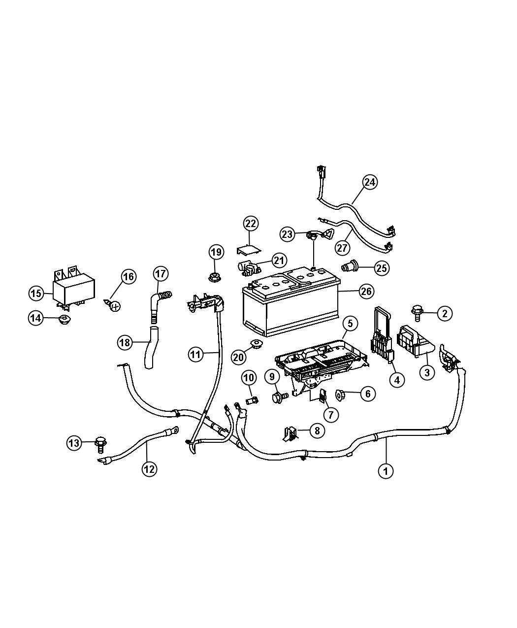 Dodge Sprinter Relay Cut Off Relay Battery
