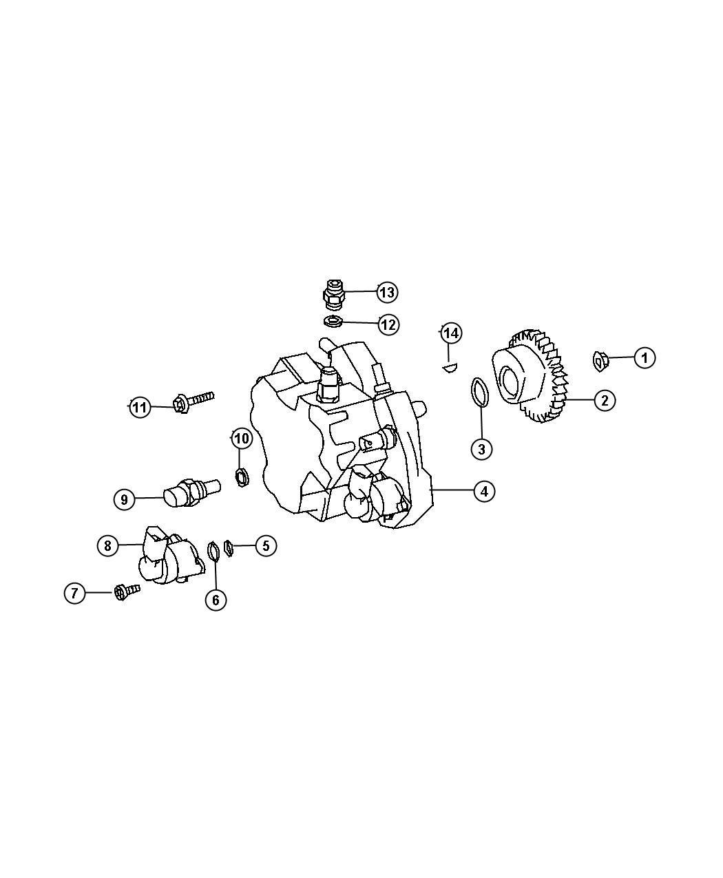 Dodge Sprinter Sensor Oil Temperature