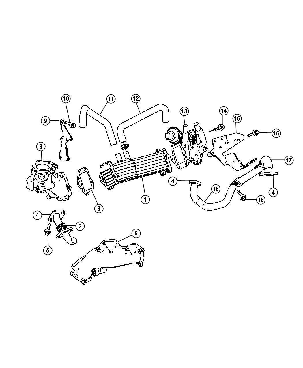 Dodge Sprinter Bolt Screw Mounting Oil Cooler Mounting