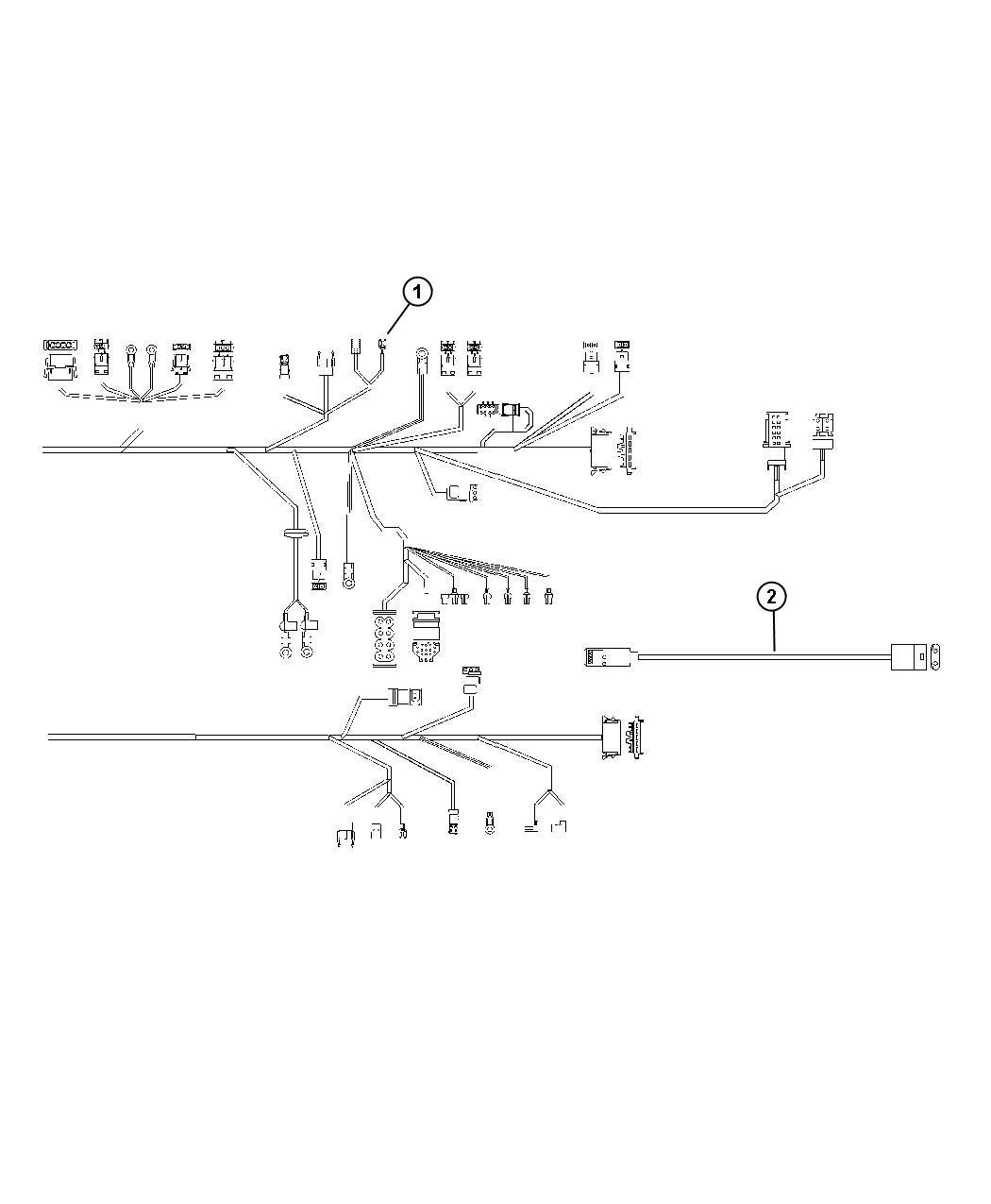 Chrysler Crossfire Grommet Body Wiring Door Harness