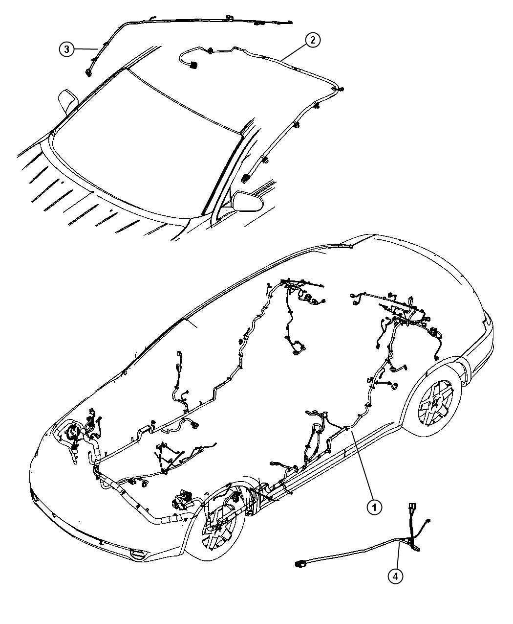 Chrysler Sebring Wiring Unified Body After 01 29 07