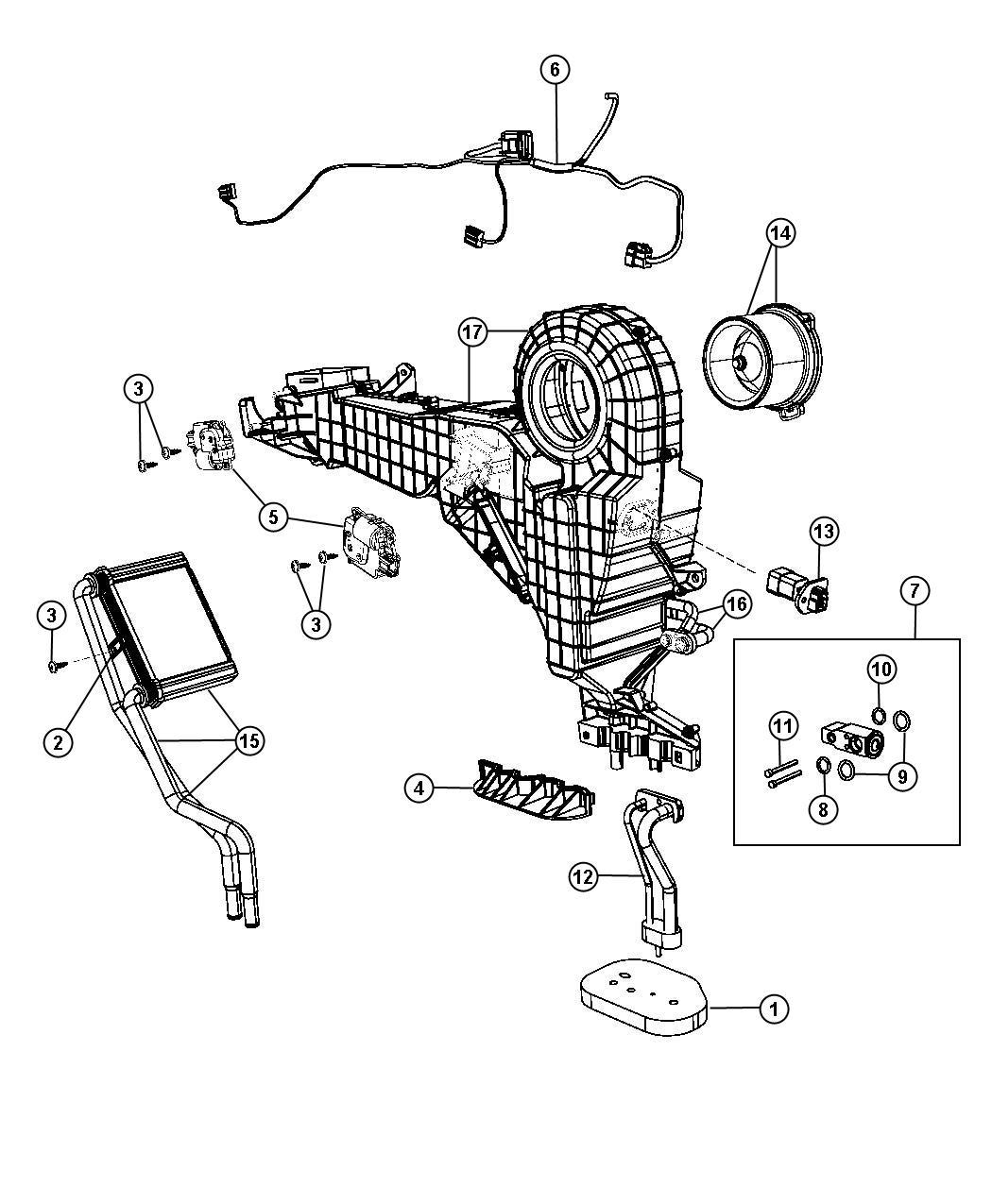 Dodge Durango Resistor Blower Motor After 1 3 08 Up To