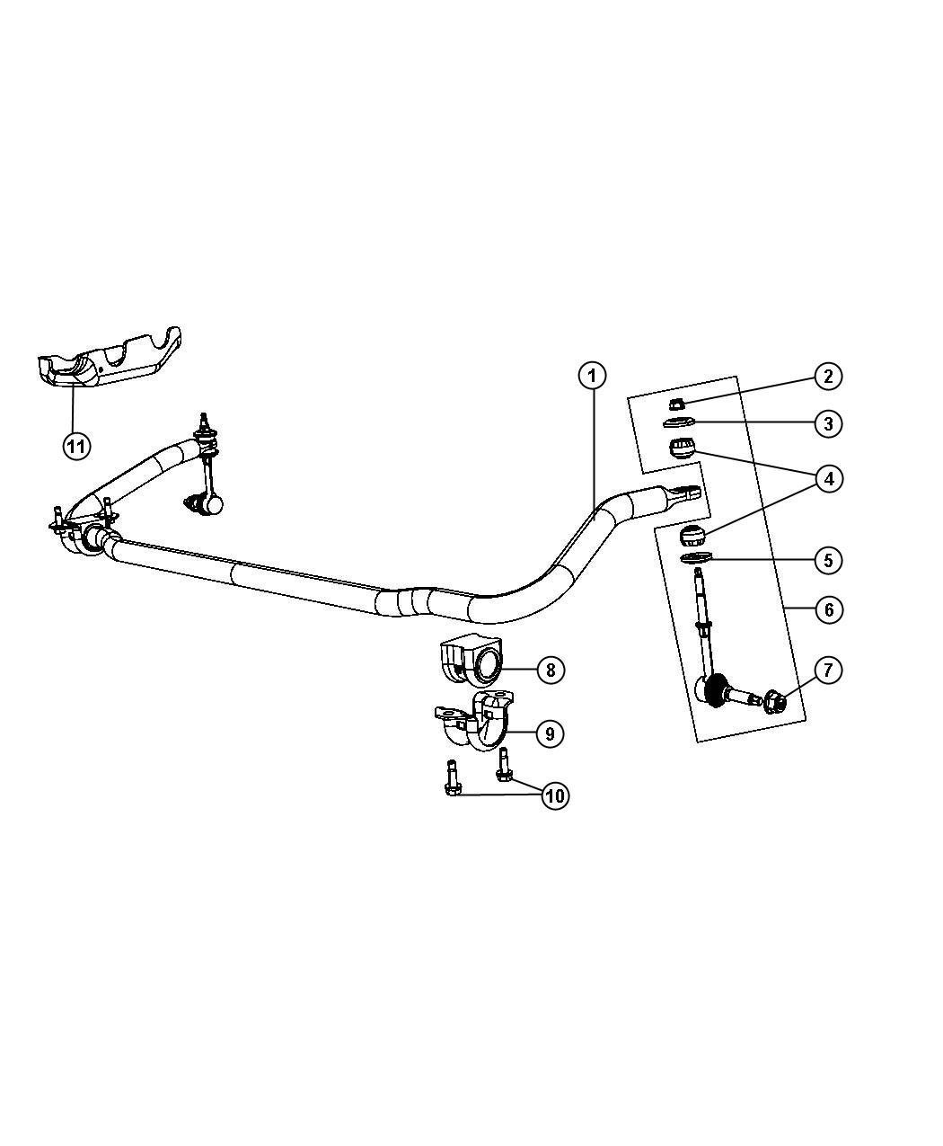 Dodge Ram Bracket Mounting Stabilizer Bar