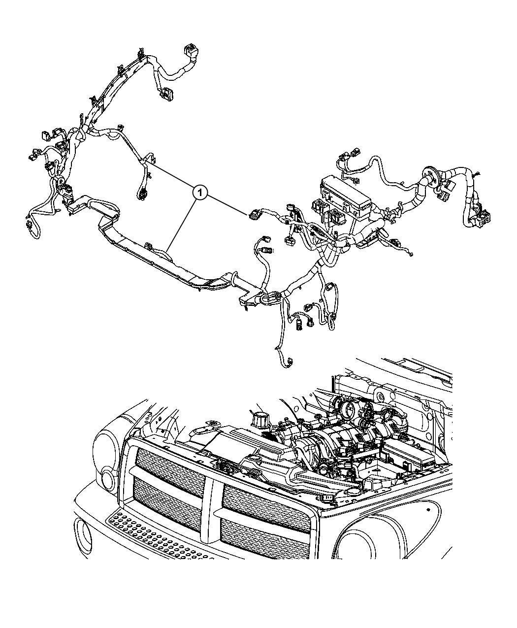 Chrysler Aspen Wiring Headlamp To Dash Monitoring