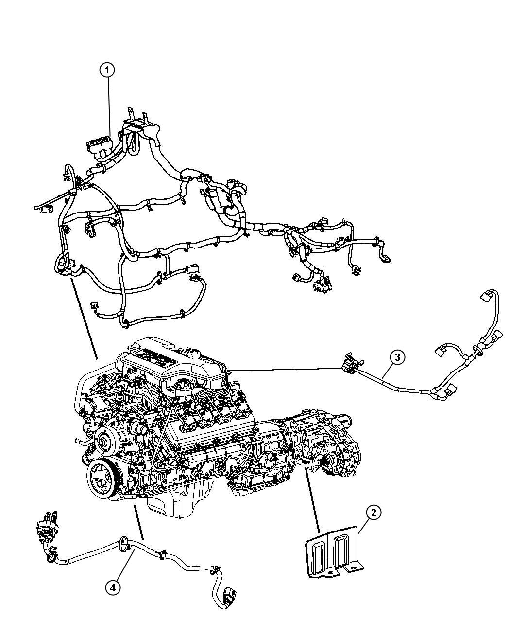 Dodge Durango Wiring Jumper Multiple Displacement