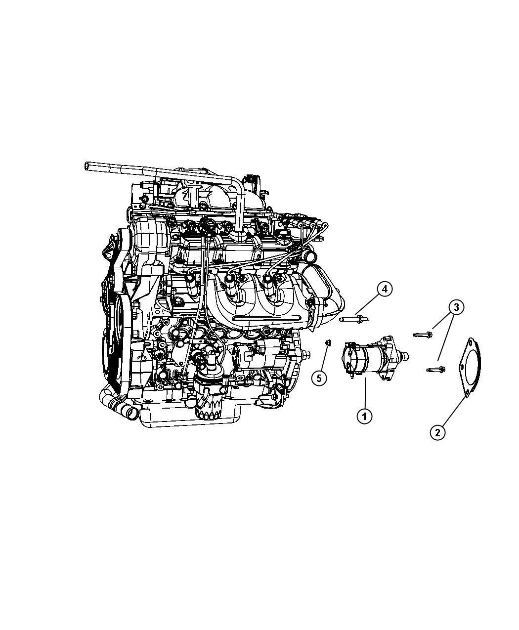 Dodge Grand Caravan Shield Starter Transmission