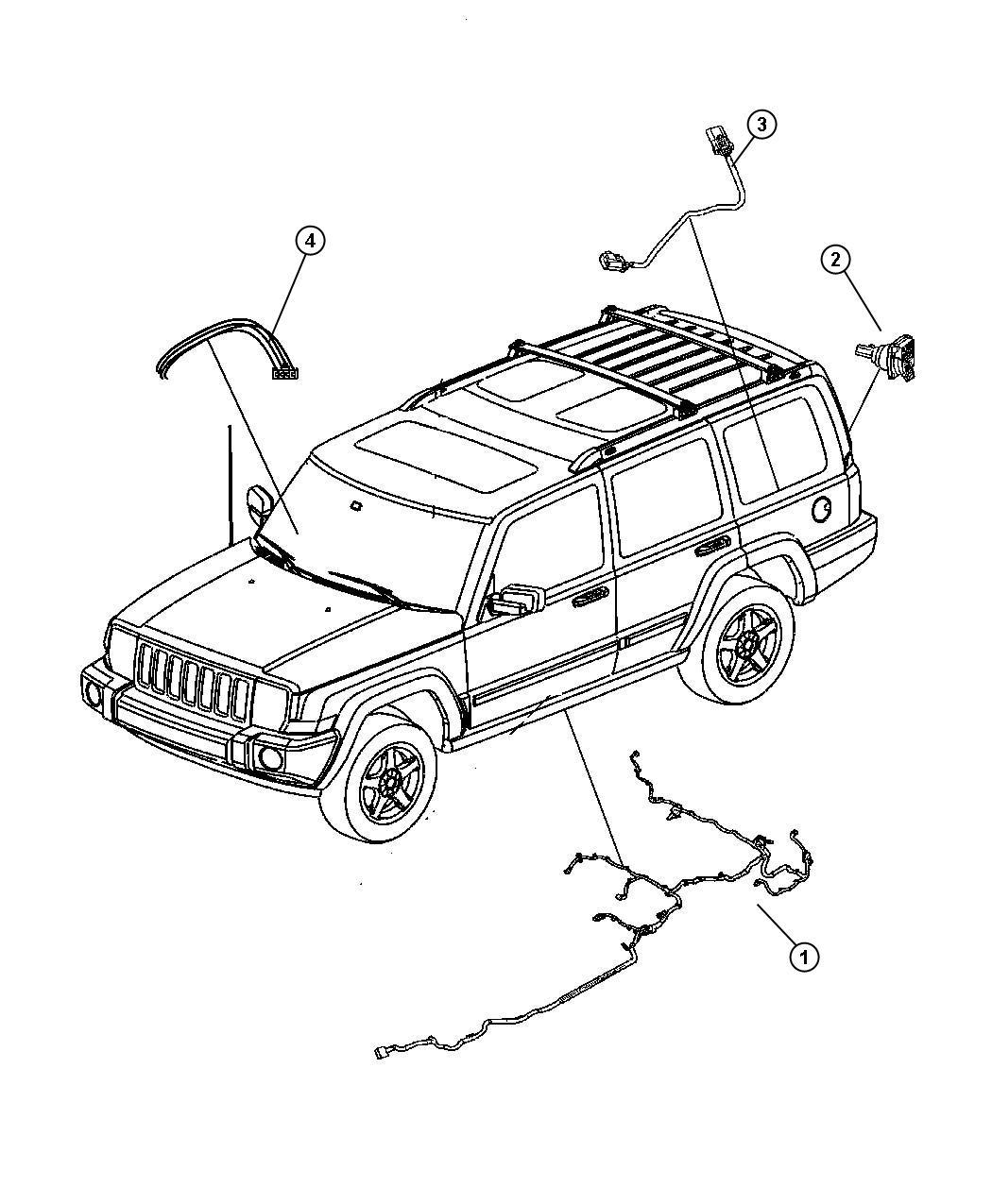 Jeep Commander Wiring Fuel Module 21 1 Gallon