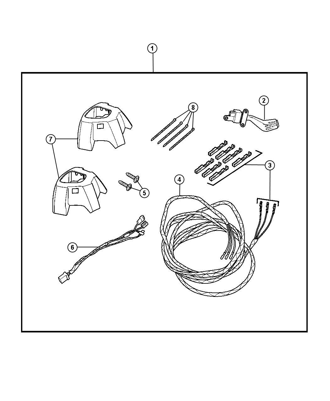 Jeep Compass Wiring Steering Wheel Trim All Trim Codes