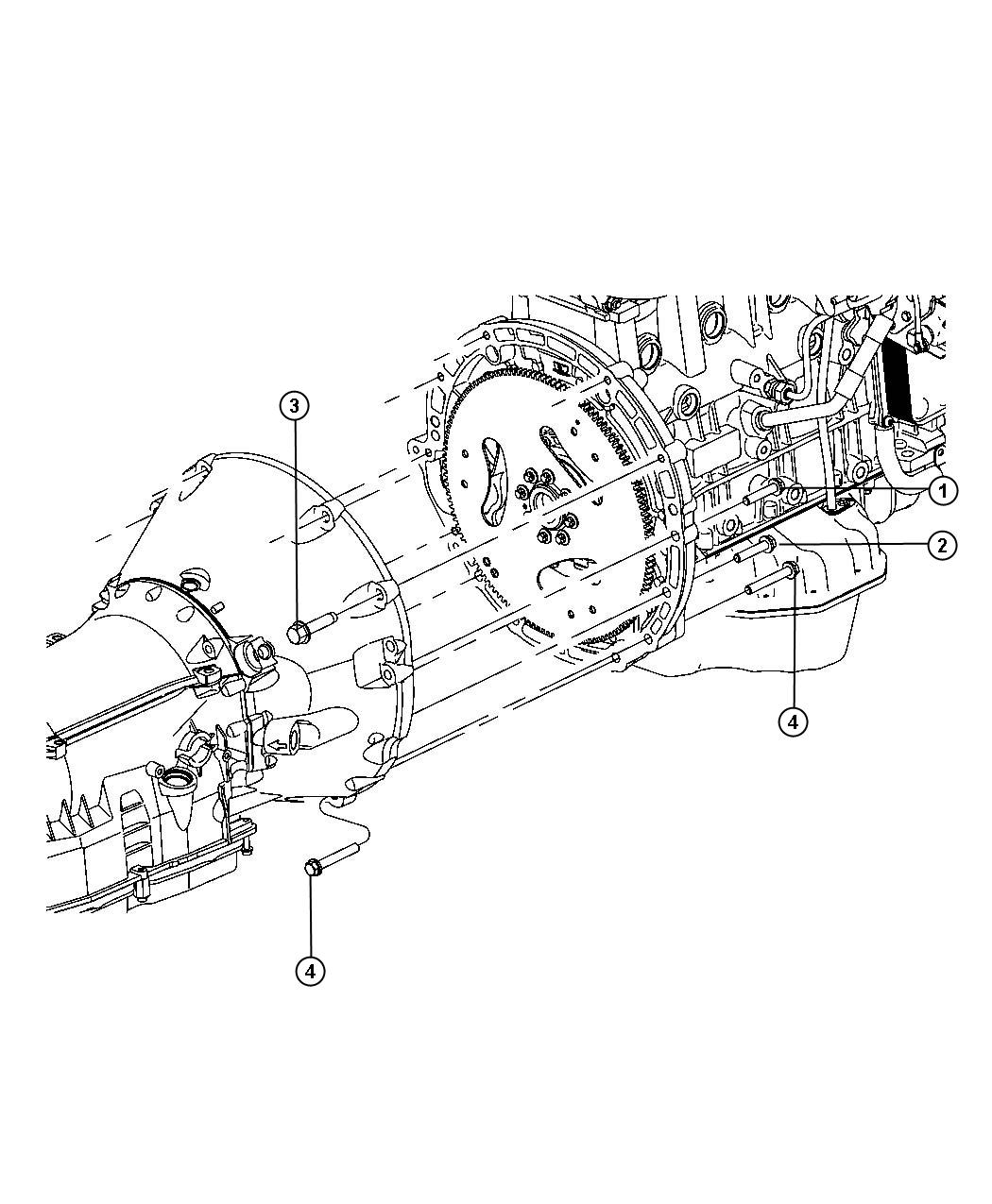 Chrysler 200 Used For Bolt And Washer Used For