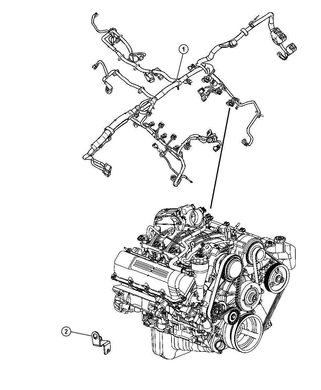 Jeep Liberty Bracket Wiring I P To Body Inline