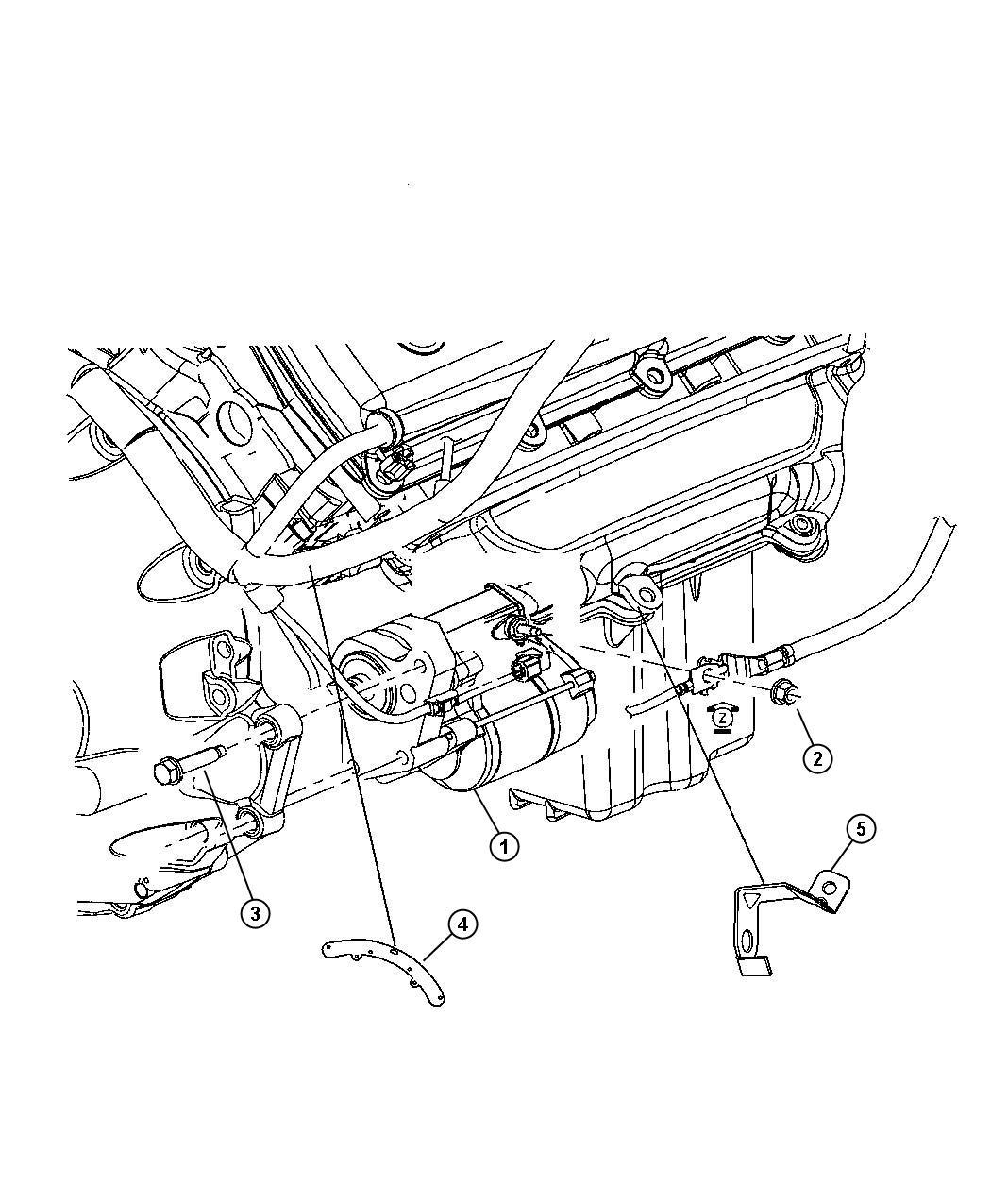 Chrysler 300 Starter Remanufactured Engine Related