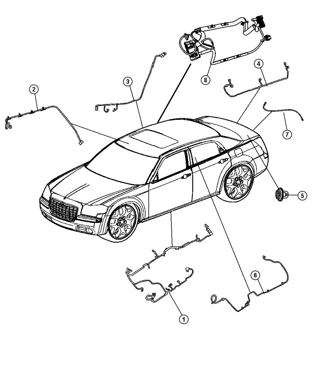 Dodge Charger Wiring Mirror Jumper