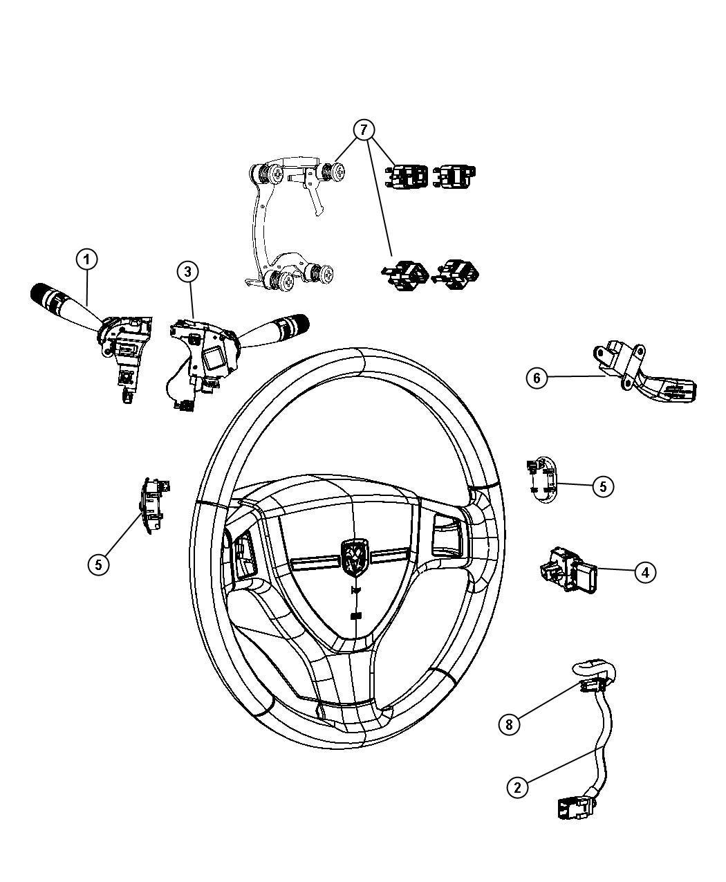 Jeep Compass Wiring Steering Wheel Trim All Trim Codes
