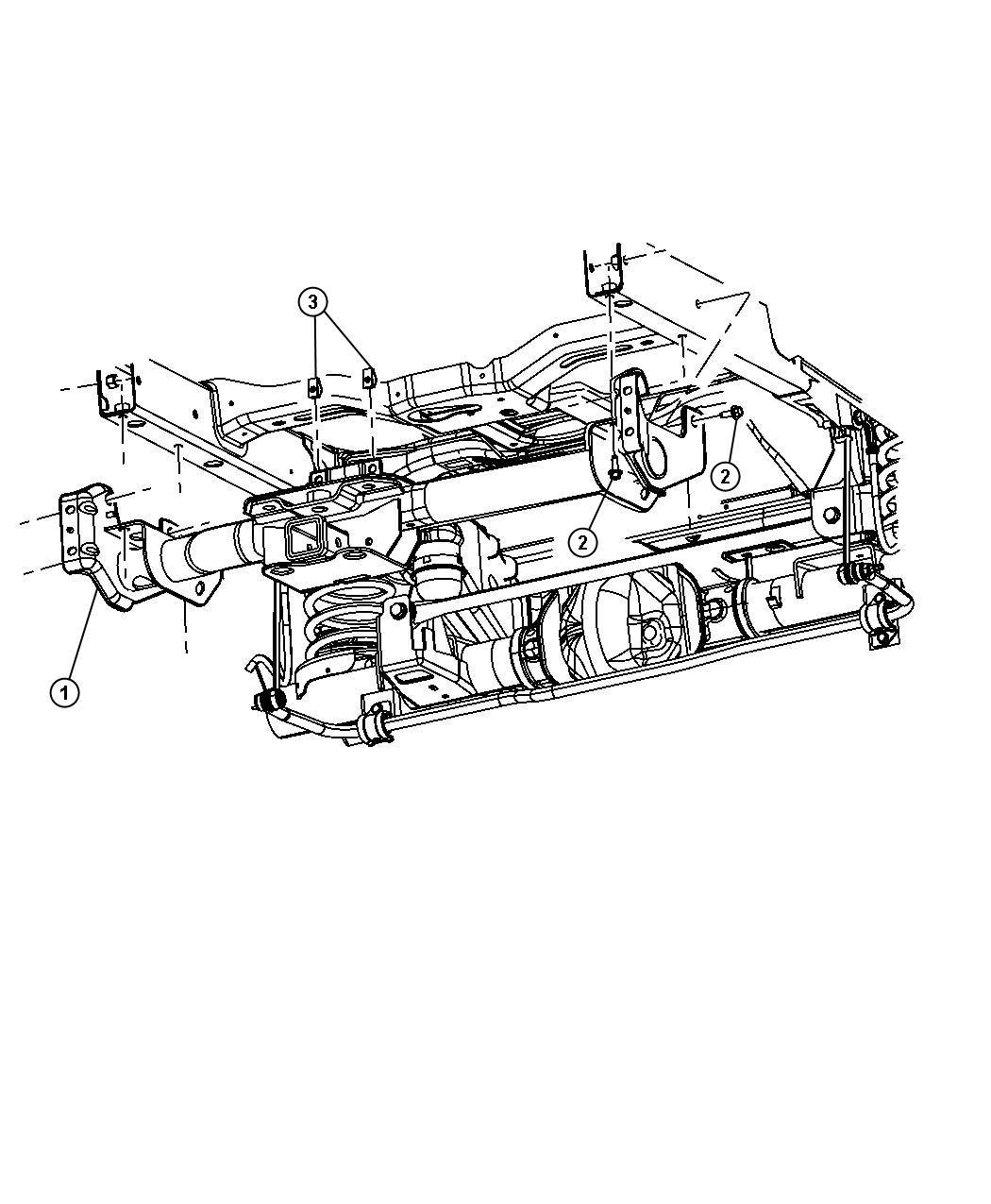 Dodge Ram Receiver Kit Trailer Tow Class Iv