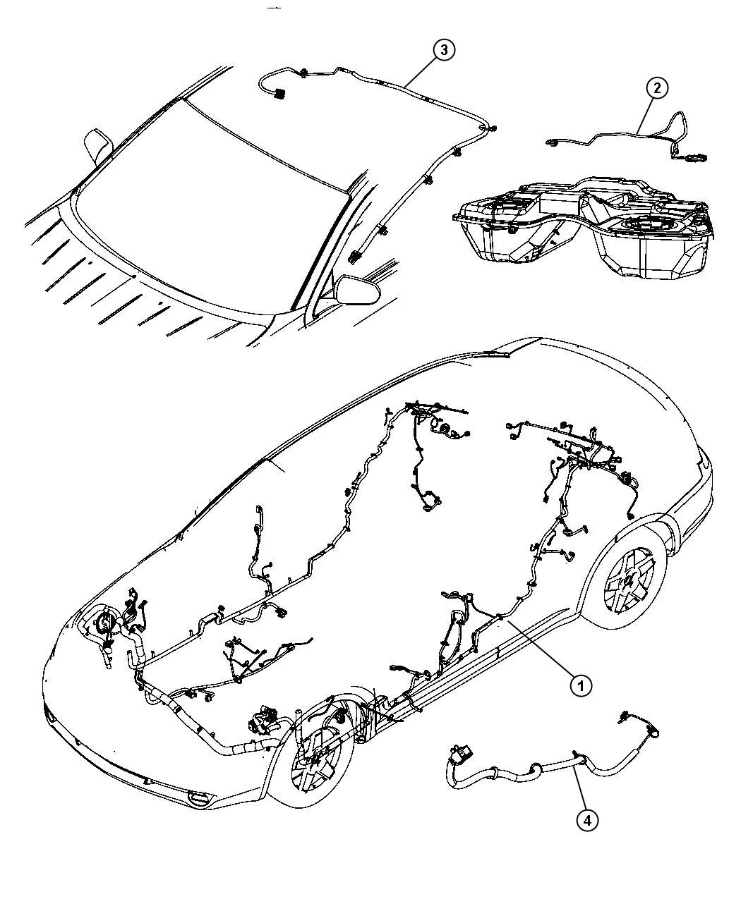 Dodge Avenger Wiring Unified Body Base