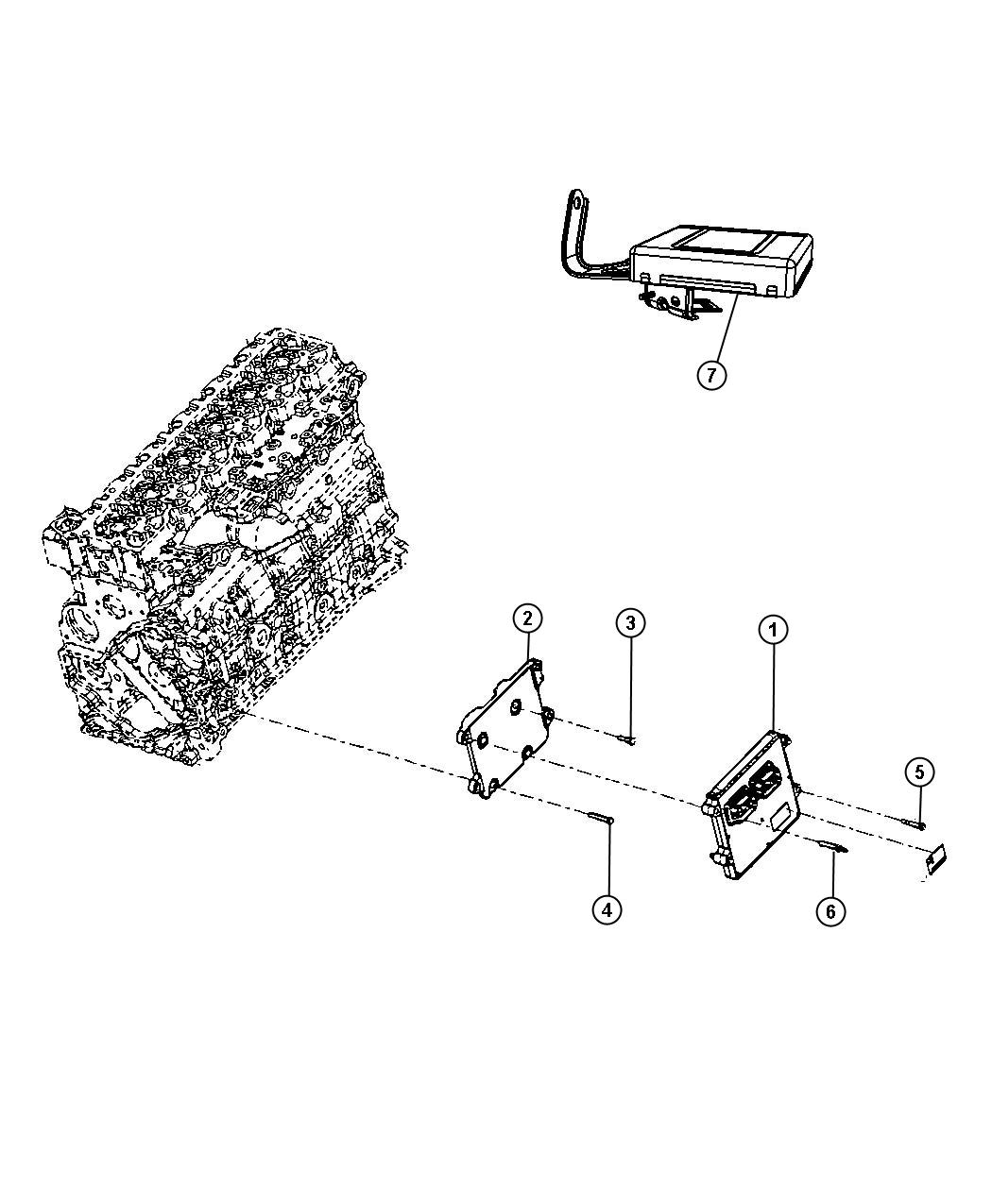 Dodge Ram Module Transmission Control Specific