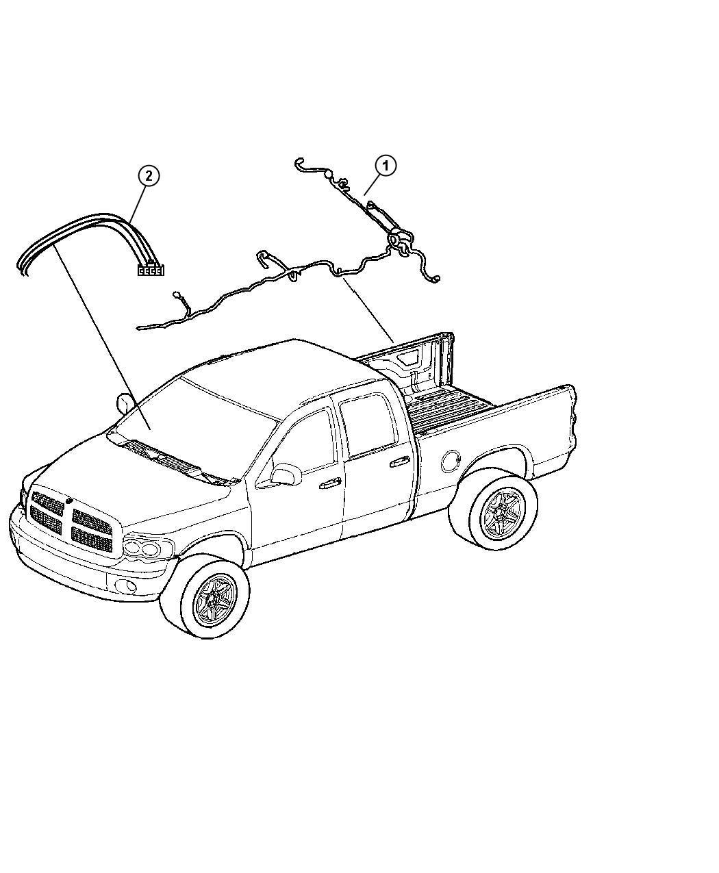 Dodge Ram Wiring Trailer Tow