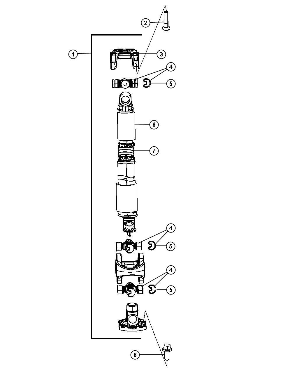 Dodge Ram Shaft Drive Front 6 Speed Manual G56