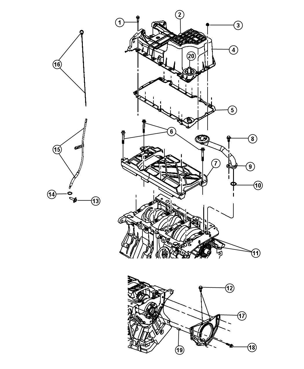 Dodge Challenger Tube Engine Oil Indicator Egg